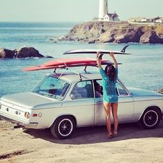 BMW 2002 and Surf