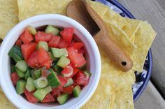 A refreshing salsa anytime of the year.