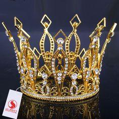 Royal New Crown Rhinestone Tiaras Wedding Bridal Queen/Princess Hair Jewelry
