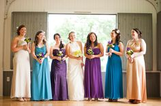 Bridal Party at Olin Park in Madison, WI  Visit Vera's House of Bridals for Wedding Trends on May 21, 2013 at the Waunakee Village Center for at Pin It Madison! For more details about this event check out pinitmadison.com!