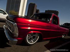 Excuse me while I wipe the drool from my chin! Old lowered Fords = :) one day ill have an old truck :-)