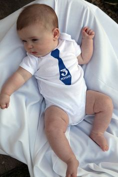 Baby boy monthly onsies