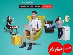 La low cost AirAsia ouvre un salon à Kuala Lumpur
