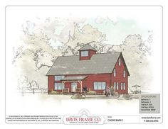 Davis Frame Co. - Classic Barn 2 Elevation