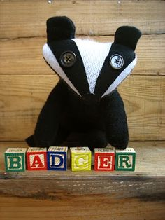 Badger DIY  - and Adorable!!