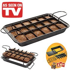 brownie pan as seen on tv - Google Search