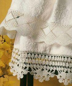 orillas a crochet para manteles ideas faciles