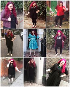What I Wore in October   A bit late this month because with my holiday (read about what I wore here) and getting back into regular routines again I've been a bit busy! But I love these monthly round up posts (and hope you do too) so decided to still put this one together. October brought with it some proper autumnal weather and I could feel my palette really change as the weather got cooler. Usually I'm all about riots of colour but for October I was having a full on love affair with black…