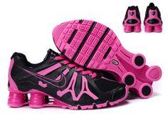 cheap wholesale Women\u0026#39;s Nike Shox Turbo 13 Mesh Black/Pink Shoes