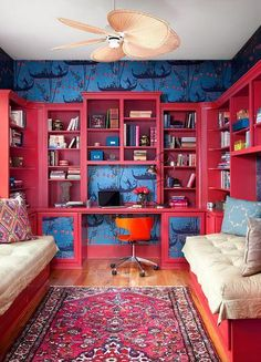 Absolutely! Believe it or not, color has a massive impact on how you feel, from your productivity and energy levels to your creativity and overall happiness.  It may sound crazy to some, but ask any Feng Shui authority, color consultant or chromotherapist and they'll tell you just that. Related story on Yahoo Makers: The Fresh Color Trend You Need to Try Right Now In an effort to save you from making the wrong choices, or to nudge you out of indecision and into taking the leap, we've broken down six colors and why you do, or don't want them in your life.  Get the paint chips out, it's time to make some big decisions. Red: The Color of Success and Productivity  Red is the perfect color choice for a productive work environment.  Photo: Ryann Ford Red is the most energetic color there is.