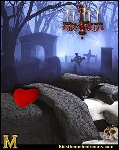 graveyard bedroom - Google Search