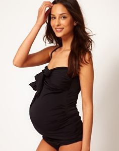e26fd6ae31160 Best I've seen so far! (ASOS Maternity Swimwear) Maternity Fashion,