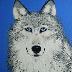Wolf www.katecowbag.wix.com/katieappledesigns Paintings  murals commissions By Kate Chappell katecowbag@hotmail.com