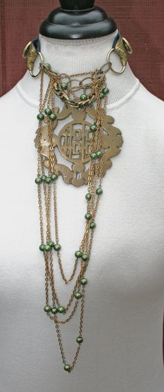 Dark Shadows Movie Inspired Necklace Long by HighCaliberCouture, $150.00