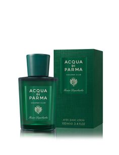 This fresh and alcoholic lotion delicately scented with the refined fragrance of Colonia Club helps soothe the sensation of the irritation often caused by shaving.