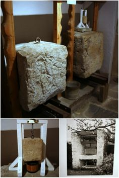 Traditional British cheese presses