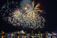 Bay City Fireworks by Tom Clark
