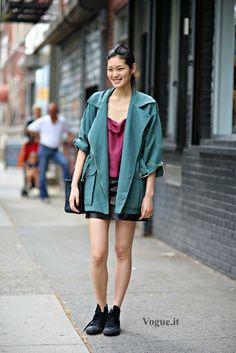 walkthatstreet:  Chiharu Okunugi
