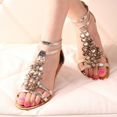 Free shipping new 2014women summer sandal wedge heels female female flat Roman sandals female slope with low-heeled $29.90