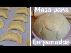Masa Para Empanadas (Saladas) - Mi Cocina Rápida - YouTube