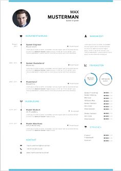Muster und Vorlagen zur Bewerbung: Lebenslauf und Deckblatt