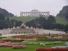 Viena, Schönbrunn gardens