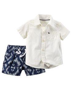 2-Piece Shirt & Short Set