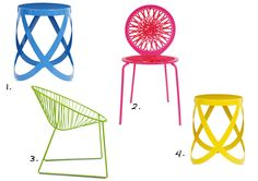 Wired outdoor furniture collection