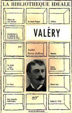 la bibliothèque idéale consacrée à valéry par andré berne joffroy, nrf, gallimard, 1960, 312 p, 12 x 18.