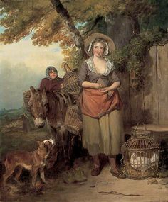 """The Return from Market"", Francis Wheatley, 1786; LMG LEEAG.PA.1948.0001.0001"