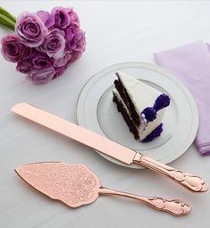 Copper Wedding Cake, Wedding Cake Knife And Server Set, Gold Cake, Gorgeous Cakes, Cake Servings, Celebration Cakes, Wedding Ideas, Wedding Prep, Dream Wedding