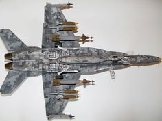 Large Scale Planes, the home of large scale aircraft modeling. Military Weapons, Military Aircraft, Fighter Aircraft, Fighter Jets, Uss Nimitz, Semper Fi Marines, Aircraft Painting, Model Shop, Model Tanks
