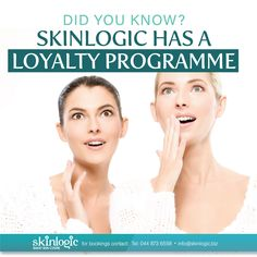 You receive reward points each time you visit us for Beauty Treatments or Skin Care Products. The more you spoil yourself, the more reward points you receive! Ts+Cs Apply For more information or booking: Website: www.skinlogic.biz Call: +27 44 873 6558 Email: info@skinlogic.biz #skinlogic #SkinlogicGeorge #Aesthetics #SkinCare #Skintreatments