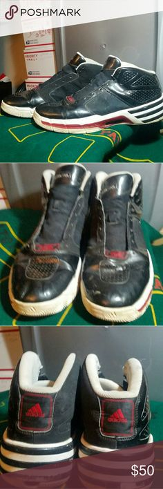 8abd91214b11 Shop Men s Adidas Climatecool Black Red size 18 Sneakers at a discounted  price at Poshmark. Description  Adidas Climate Cool Basketball Sneaker Size  18 See ...