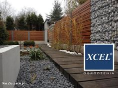 nowoczesne drewniane ogrodzenie domu - Szukaj w Google