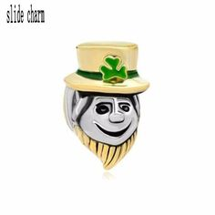 buy on wallmart.win slide charm wholesale Free shipping Funny Magician St Patrick Bead Charm Bracelets Charm: Vendor: Wallmart Type: Beads…