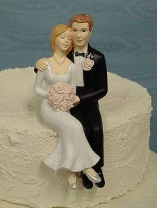 Bride and groom cake toppers - The Wedding Specialists