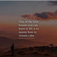 Your chances of overcoming your challenges becomes much greater if you have the ability to remain calm in any situation. Practice this skill. Master it. Positive Vibes Quotes, Sad Quotes, Daily Quotes, Best Quotes, Motivational Quotes, Life Quotes, Qoutes, Deep Quotes That Make You Think, How Are You Feeling