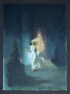 Gothic Novel Cover Comic Art