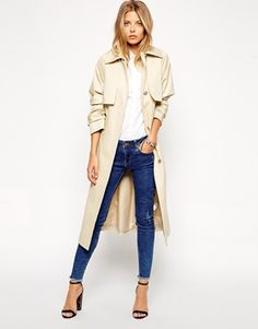 Lightweight Trench Coat - High End Hippie