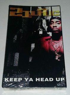 Keep Ya Head Up EP Single by 2Pac Cassette Sep-1993 Interscope USA Tupac