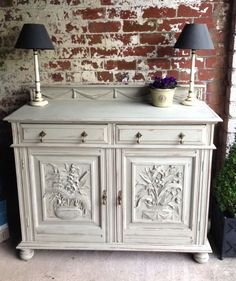 Modern Country Style Painted Furniture by SallyWhiteDesigns