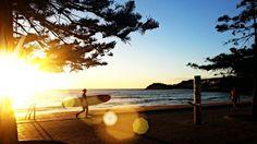 What a morning on Manly Beach... #manlybeach #sunrise #surfing #lovemanly #sydney #sunshine #australia #samsung