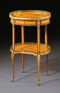 French Furniture, Antique Furniture, Antique Tables, Classical Art, Marquetry, Louis Xvi, Art Object, Furniture Projects, Side Tables