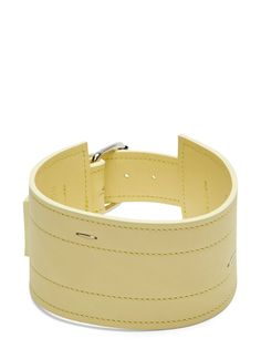 Ribeyron Leather Stapled Choker