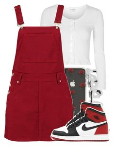 """Untitled #5772"" by rihvnnas ❤ liked on Polyvore featuring Sonix, Glamorous and Boohoo"