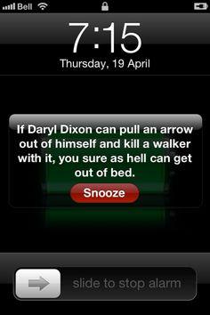 Alarm Clock Note -
