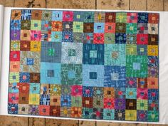 Quilt für Moni aus Stoffen von Marcia Derse