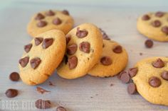 The best Choc Chip Cookies