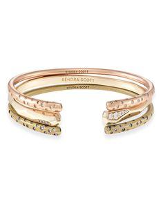 Kendra Scott Zorte Stacking Cuff Bracelet Set, 3 Pieces